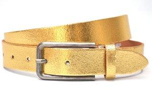 3cm gouden riem - dames riem goud goud408TB