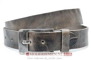 4cm grijze riem - jeans riem grijs Take-it gr015Take-it