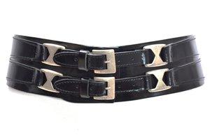 8cm brede dames riem zwart - zwarte heupriem Take-it zw020TB