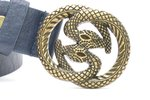 3 cm dames riem snake bl2104
