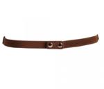 elastische tailleriem ringen cognac OY98