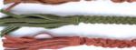 gevlochten riem groen 800050