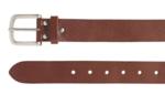 3,5 cm volnerf leren jeans riem cognac 35001