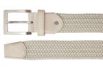 3,5 cm beige elastische riem TBe
