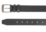 4 cm zwarte riem 40423
