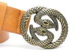 3 cm dames riem snake oc2104_