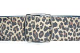 6cm dames riem luipaard 60002_