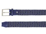3,5cm multi blauw elastische riem TBe_