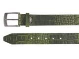 4 cm groene riem 40628_