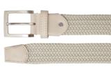 3,5 cm beige elastische riem TBe_
