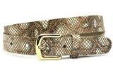 3cm dames riem snake bruin 30915_