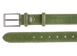 3,5 cm groene pantalon riem 35577_