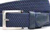3,5 cm blauwe elastische riem TBe_