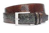 4cm bruin/groene riem snake 400sn_