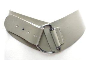 8cm brede dames riem taupe - grijs Take-it Tau8120TB