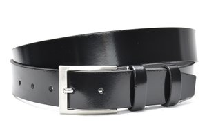 3,5cm zwarte riem 40605