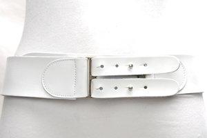 6cm brede dames riem wit - witte heupriem Take-it wi028TB