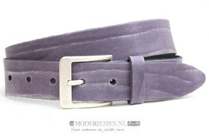 4cm paarse riem - jeans riem paars ps409bf