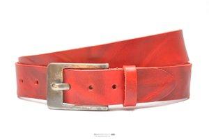 4cm rode riem - jeans riem rood Take-it rood015TB