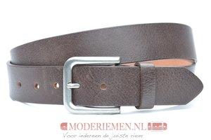 4cm bruine riem - jeans riem bruin br40601am