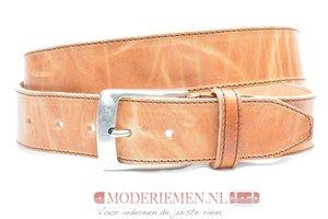 4cm naturel riem - jeans riem naturel volnerf leder Timbelt na622-1TB