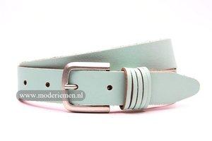 3,5cm dames riem blauw pastel blp352