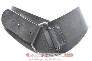 8cm brede dames riem grijs Take-it Grijs8120TB