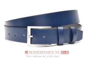 3,5cm blauwe pantalon riem, nette riem blauw blauw40605am