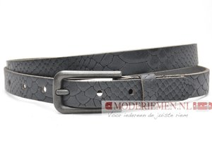 2cm dames riem zwart snake Take-it zw414snakeTB