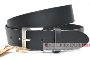 4cm zwarte riem - jeans riem zwart Timbelt zw443Timbelt