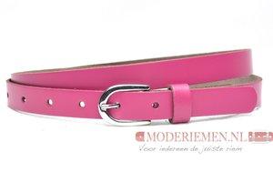 2cm kinderriem fuchsia roze roze201