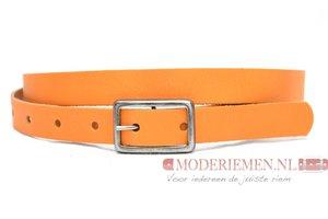2cm dames riem oranje or203