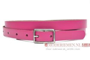 2cm dames riem fuchsia roze roze203
