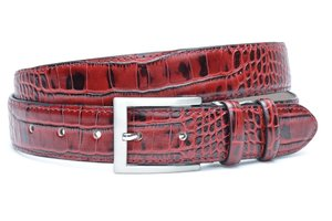 3,5cm rode pantalon riem - rode croco riem rocr350am