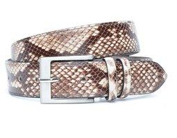 4cm dames riem slangenprint mc400snake