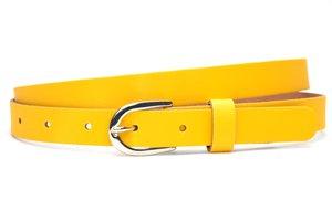 2cm dames riem geel ge201