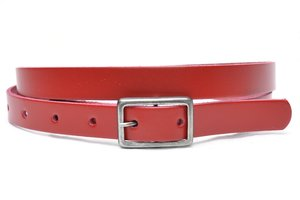 2cm smalle rode riem - riem rood ro203