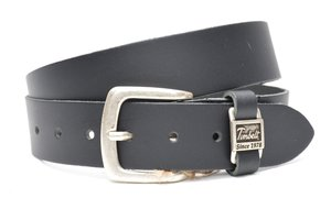 4cm zwarte riem - jeans riem zwart Timbelt zw460Timbelt