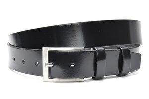 3,5cm zwarte pantalon riem, nette riem zwart zwart40605am