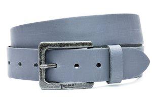 4cm grijze riem - jeans riem grijs Timbelt gr421Timbelt