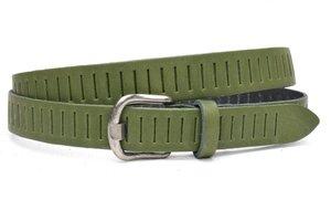 3cm groene riem / jeans - pantalon riem groen Timbelt gr426tb