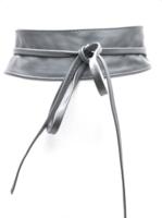 8 cm brede dames riem grijs Unleaded