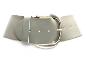 8cm brede dames riem taupe van het merk Take-it tau804TB