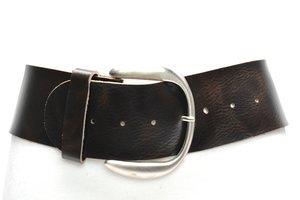 8cm brede dames riem bruin van het merk Take-it bruin804TB