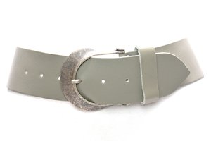 6cm brede taupe dames riem taupe610