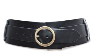 8cm zwarte heupriem - brede dames riem zwart van het merk Take-it TB8200ZW