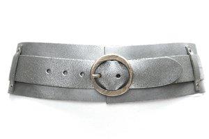 8cm zilveren heupriem - brede dames riem zilver van het merk Take-it TB8200zi