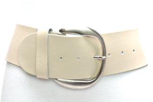 8cm brede dames riem ecru van het merk Take-it ecru804TB