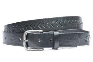 3cm zwarte riem volnerf perfo zw403