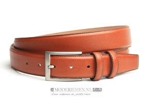 3,5cm pantalon riem cognac co3501am